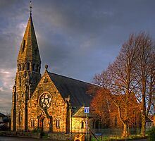 Broxburn Parish Church by Tom Gomez