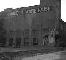 Urban Decay Series--Spaghetti Warehouse, Front view by bunnij