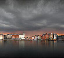 Copenhagen - Summer Storm by Flemming Bo Jensen