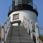 Owl's Head Lighthouse by Anthony  Romano