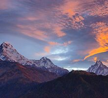 Annapurna Sunrise by Harry Oldmeadow