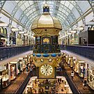 Hanging Clock ~ QVB by Andi Surjanto