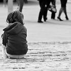 Alone in a crowd.. by Caroline Gorka