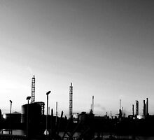 Industrial Skyline by sbland