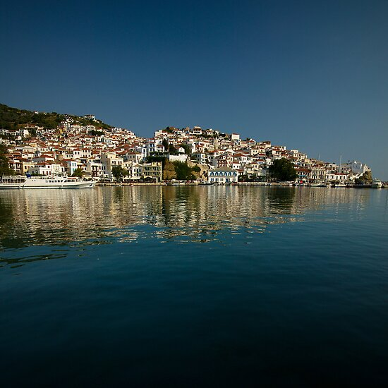 Skopelos bay by Neil Buchan-Grant