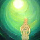 Woman in tunnel to the light (2000) by Deva Saal