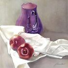 Marnie&#x27;s Purple Jug by Joan A Hamilton