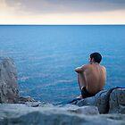 Sicilian watching sunset by Neil Buchan-Grant