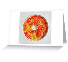 Tomatoes in Dryer               Greeting Card