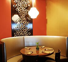 Restaurant Dining Booth by Koon