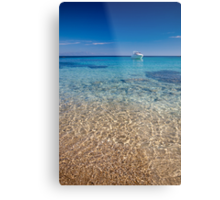 Mykonos beach Metal Print