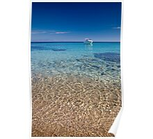 Mykonos beach Poster