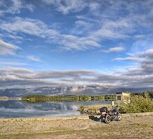 Rowing Course and Ski Area, Lake Ruataniwha by Tony Burton
