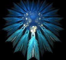 TRUE BLUE DREAMCATCHER by 1arcticfox