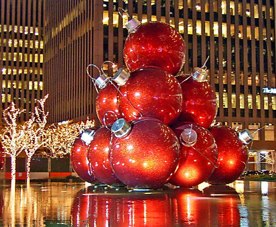 Christmas in New York City by Evelina Kremsdorf