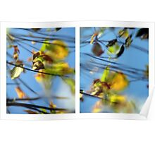 Another Day Goes By - Diptych Poster