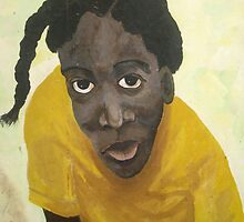 Jamaican school girl by James Lewis Hamilton