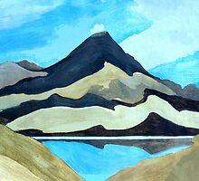 Tama Lakes by Patricia Howitt