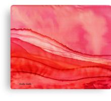 Red Hills Canvas Print