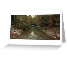 Crab Orchard Mountains Greeting Card