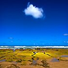 Cloud at low tide - Great Ocean Road by Hans Kawitzki