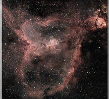 Heart nebula by sergeschittly