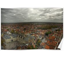 View from the Belfry of Brugge Poster