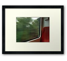 Commuter view of Surrey Framed Print