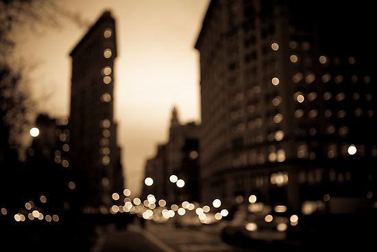 The Flatiron District, Manhattan by Gerald Holubowicz