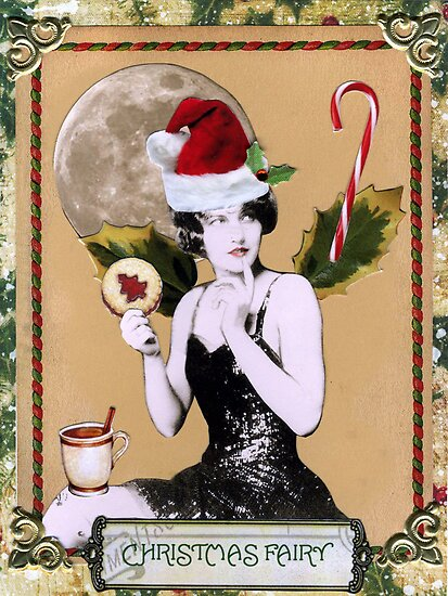 Christmas Fairy Card by WinonaCookie