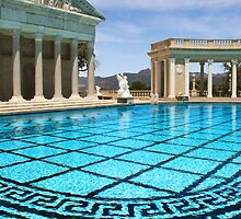 Hearst Castle: Neptune Pool by Alex Preiss