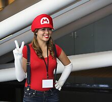 Female Mario!  Mamma Mia! by Okeesworld