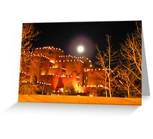 Christmas in Santa Fe Greeting Card