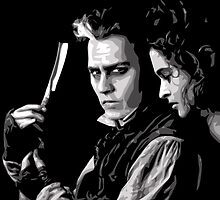 Sweeney Todd & Mrs. Lovett by Beetlejuice