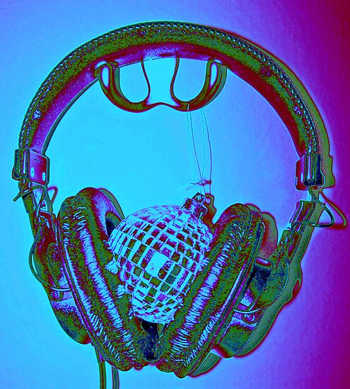 """""""mirrorball headphones"""" by Christopher Common"""