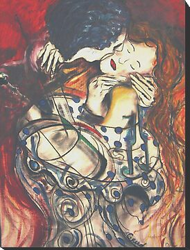 "The Kiss ""2009"" by David Grudniski"