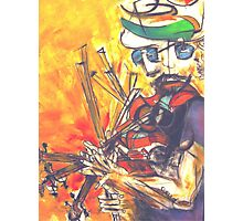 Fiddler Photographic Print