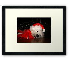 Awaiting Christmas Framed Print