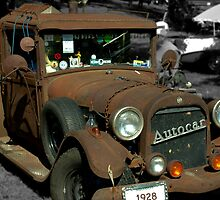 1928 Oldsmobile Pickup Camper Special by TeeMack