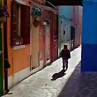 Burano Boy by Russ Underwood