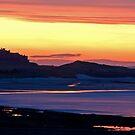 Bamburgh sunset by Rachael Talibart
