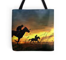 Evening Run Tote Bag