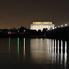 Lincoln Memorial by Geff Bourke