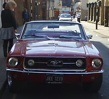 mustang sally by Richard Thurley
