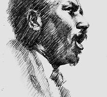 Jazz Portraits- Thelonious Monk by Francesca Romana Brogani