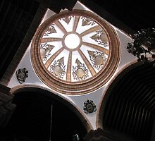 Inside the church by Hans Bax