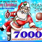 Thank you & Merry Christmas by Ken Tregoning