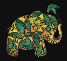 Umbrellaphant Lime Splice by © Karin  Taylor