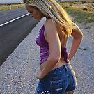 Jade on Desert Road by John Manning