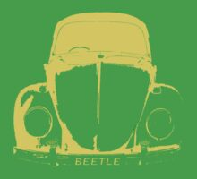 VW Beetle Shirt - Yellow Kids Clothes